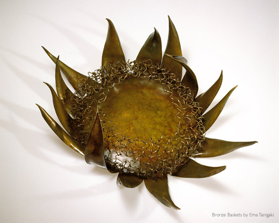 Tequilla Blossom Agave Form Bronze by Ema Tanigaki